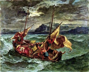 Christ on the Sea of Galilee - Delacroix