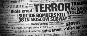Terror Headline Collage