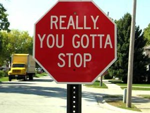 really stop sign