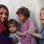 mother-and-kids-afghan